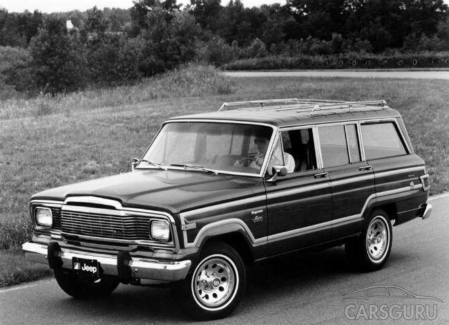 Jeep планирует представить дорогой полноразмерный внедорожник