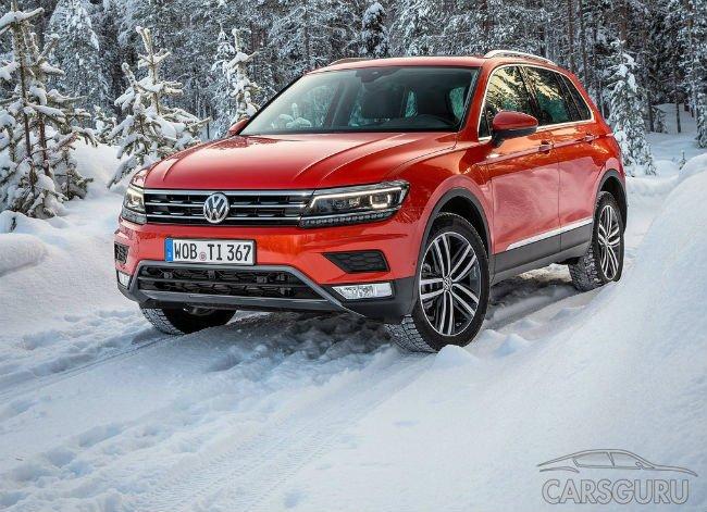 В I квартале 2017 года в России начнут продавать новый Volkswagen Tiguan