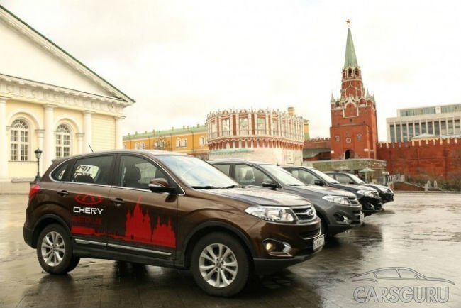 В сентябре в России вновь сократились продажи машин из Китая