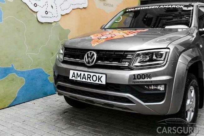 Транс-Азиатская Экспедиция: Новый Volkswagen Amarok покоряет Азию