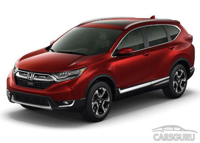 Honda CR-V нового поколения появится в продаже в России в 2017 году