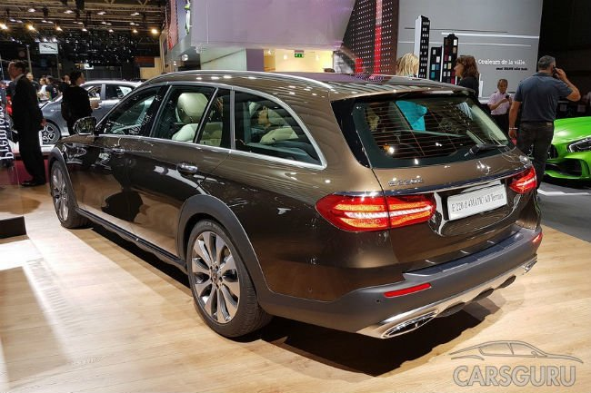 Mercedes показал «внедорожную» версию универсала Е-Class