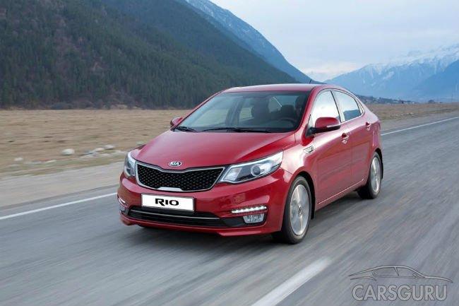 Kia отчиталась о продажах в России в сентябре