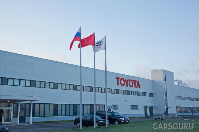 Сентябрьские продажи Toyota и Lexus в России подросли на 23,7%