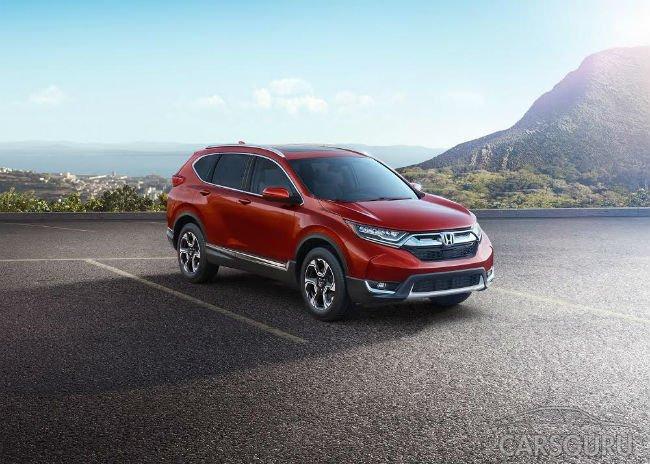 Новое поколение Honda CR-V для российского рынка