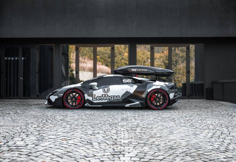 800-сильный Lamborghini Huracan в дизайне Jon Olsson