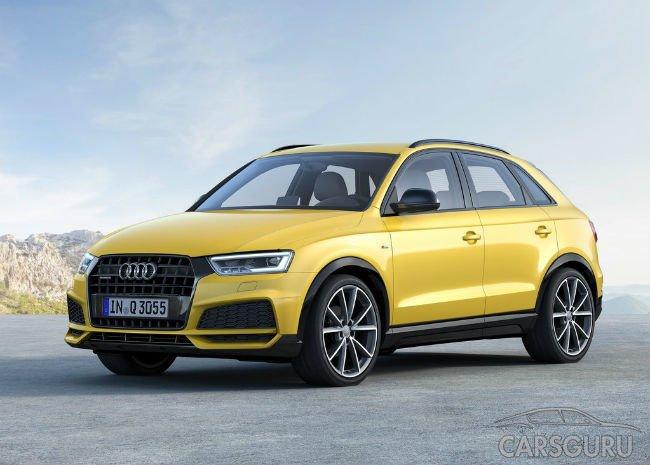 Audi огласила цены на рестайлинговый Q3 в России