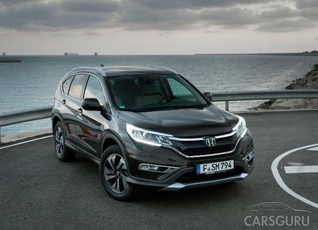Продажи Honda в России снизились почти в 4 раза