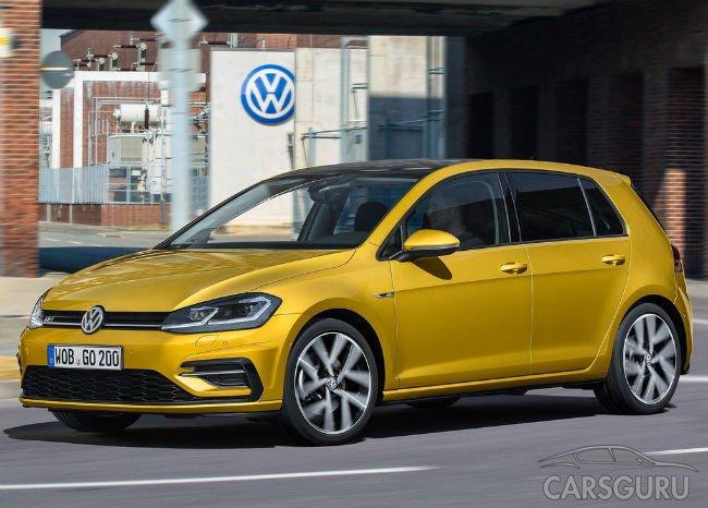 Volkswagen представил новый Golf в Вольфсбурге