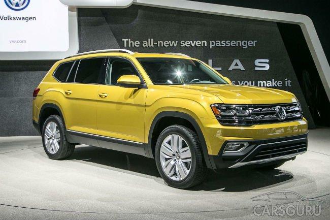 Кроссовер Volkswagen Atlas доедет до России через год