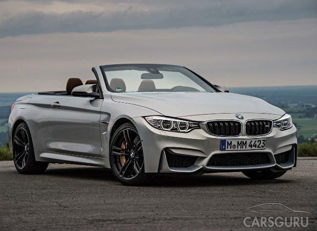 В России не будет BMW M3 и M4 Cabrio