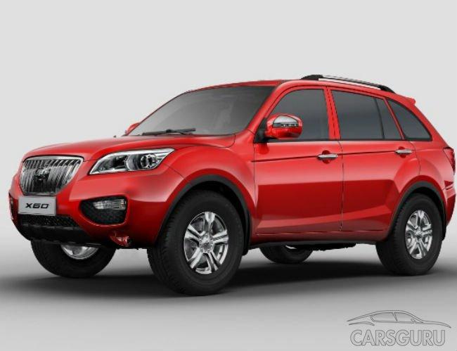 Самым популярным китайским авто в России стал Lifan X60
