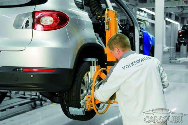 Volkswagen не будет сокращать сотрудников в России