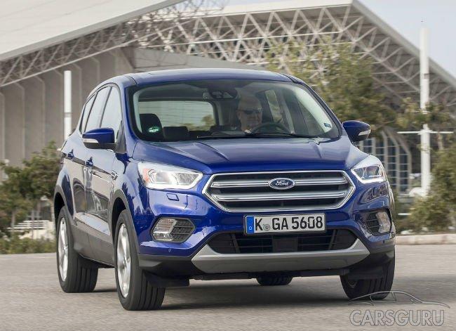 Обновленный Ford Kuga появится в России в конце года