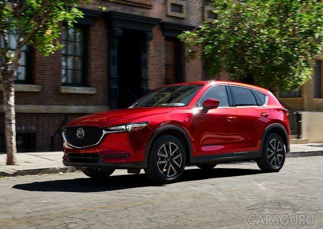 Mazda представила новую версию кроссовера CX-5