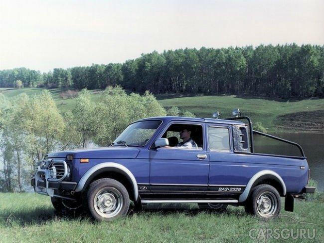 Возобновляется производства пикапа на базе Lada 4×4