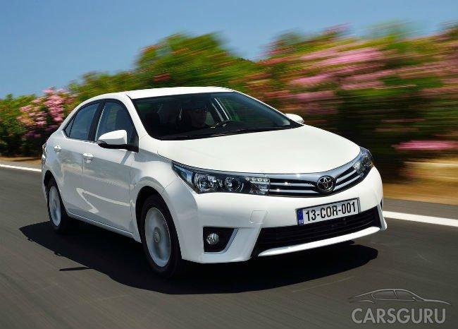 Самым популярным автомобилем в мире стала Toyota Corolla