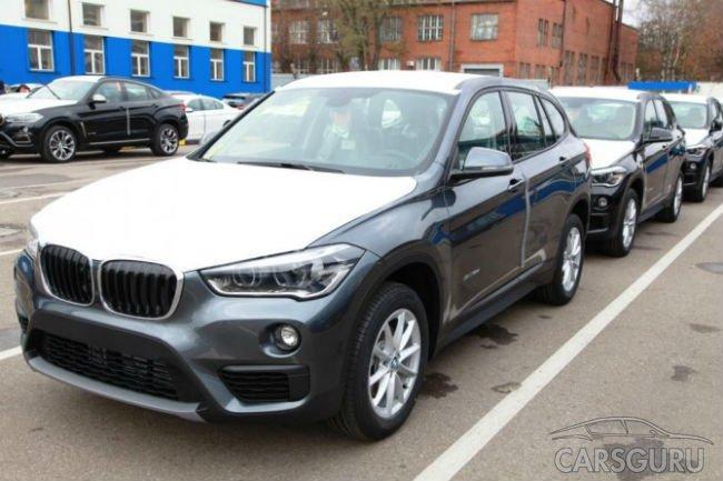 Обновленный кроссовер BMW X1 начали выпускать в России