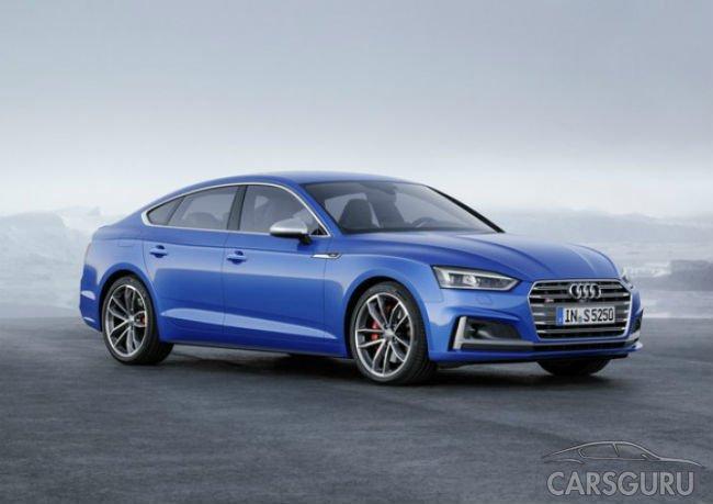 Стали известны российские цены на Audi A5 Sportback и S5 Sportback
