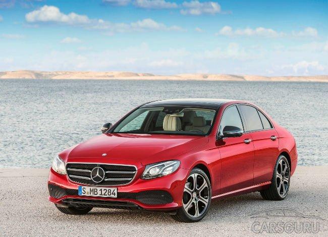 Лидером премиального сегмента в октябре в Москве стал Mercedes E-Class