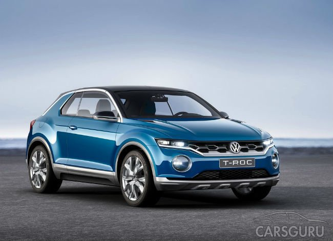 Volkswagen представит кроссовер на базе модели Golf