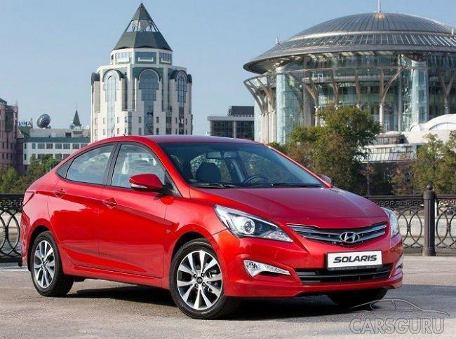 Самым популярным автомобилем Москвы вновь стал Hyundai Solaris