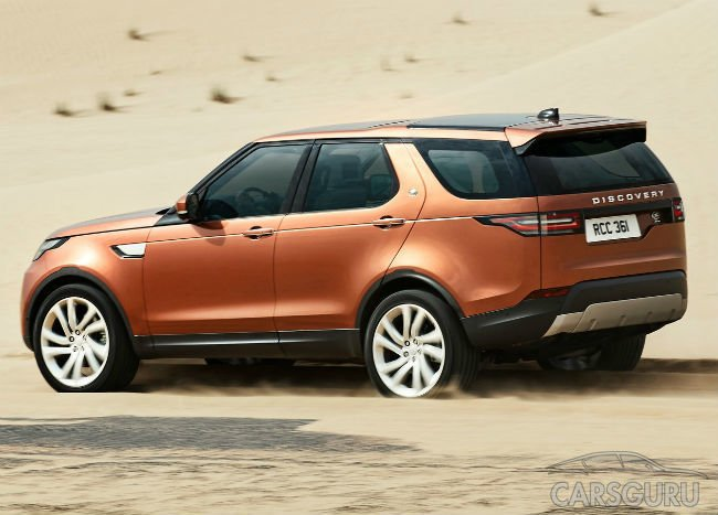 Land Rover начинает принимать заказы на новый Discovery