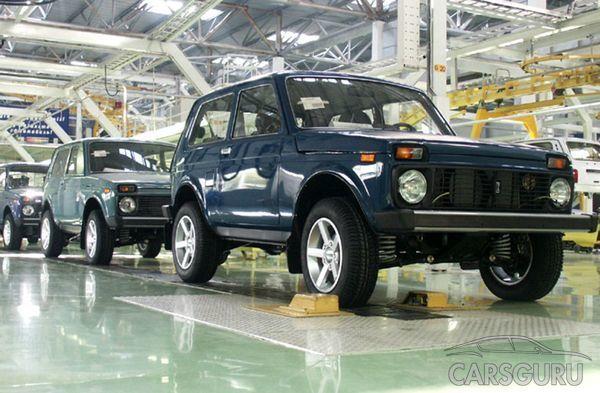 АвтоВАЗ выпустит битопливный кроссовер Lada 4х4