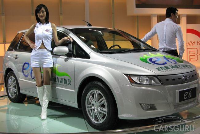 Китай занял лидирующие позиции по продажам электрокаров