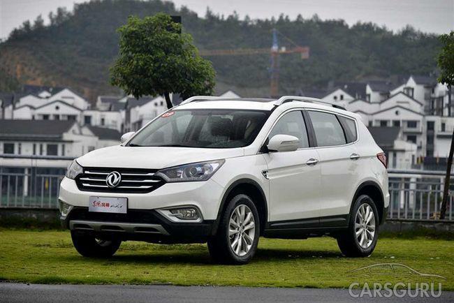 Автомобильный концерн Dongfeng планирует наладить производство АХ7 в России