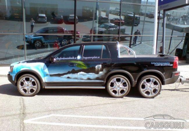 Volvo представляет два новых пикапа