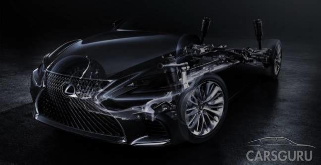 Смена поколений Lexus LS, теперь пятая генерация