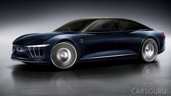 Компания Italdesign продемонстрирует новый электромобиль в 2017 году