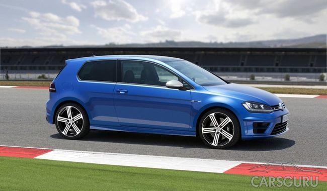 Компания Volkswagen обновила хэтчбек Volkswagen Golf