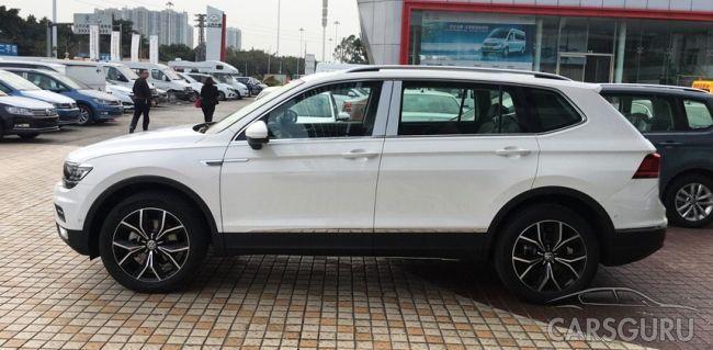 Volkswagen представил в Китае новый кроссовер Tiguan