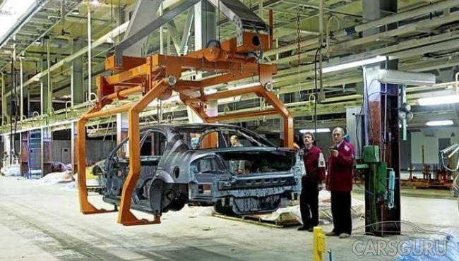 За ноябрь 2016 в Санкт-Петербурге увеличилось производство автомобилей