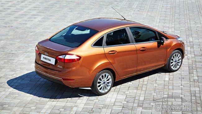 На российском рынке отзывают партию Ford Fiesta