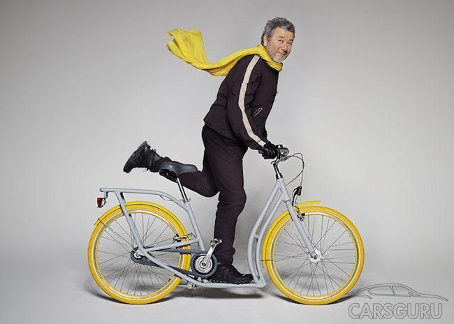 Peugeot и Филипп Старк создали велосипед-самокат (видео)