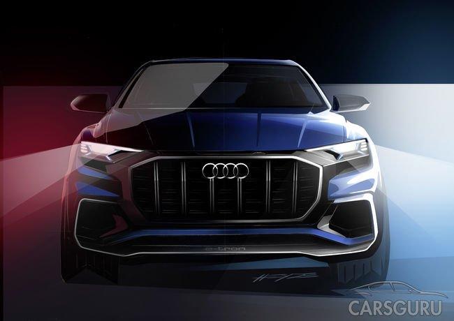 Стала известна дата мировой премьеры Audi Q8 в Детройте