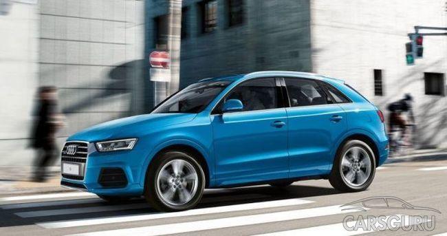 Улучшенная Audi Q3: даунсайзинг размеров и мотора