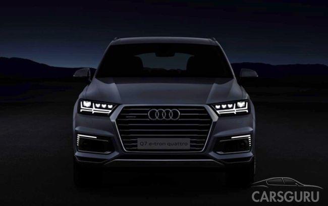 Стали известны цены на Audi Q7 е-Tron в Великобритании