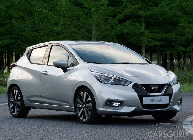 Весной 2017 года в Европе начнут продавать новую Nissan Micra
