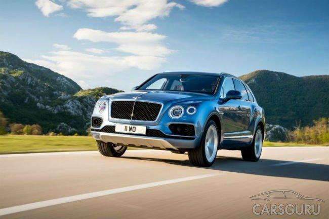 В России отзывают 86 Bentley Bentayga