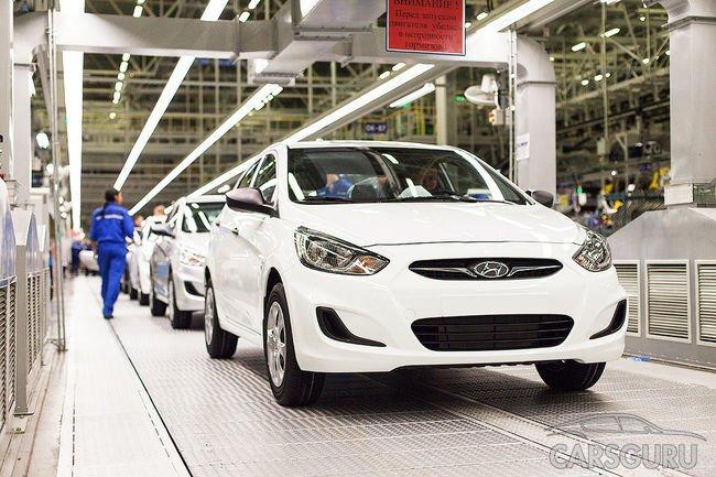 Завод Hyundai в Санкт-Петербурге будет работать на полную мощность
