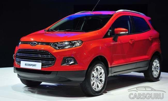 В России открыт предзаказ на Ford EcoSport