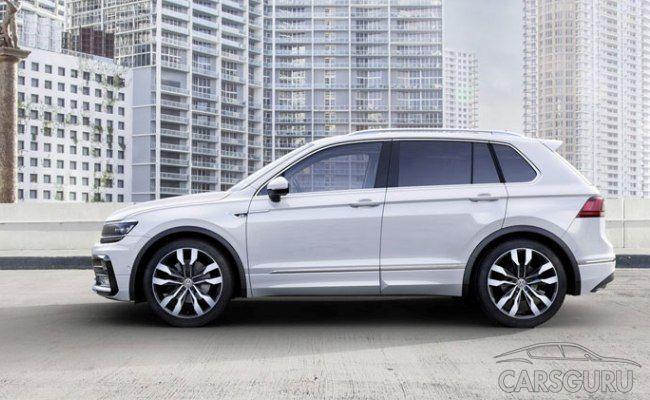 Volkswagen Tiguan снимают с производства в Калуге
