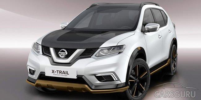 Сеть облетели фото засекреченного Nissan X-Trail