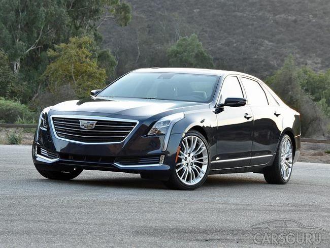 Бюджетный кроссовер Cadillac CT6 появится в Китае