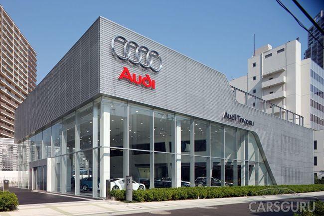 Автомобильный бренд Audi перестанет поставлять на территорию РФ 5 своих моделей