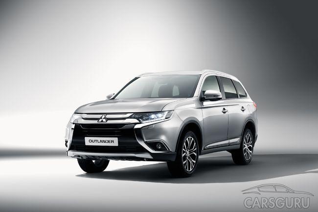 Объявлено начало продаж Mitsubishi Outlander